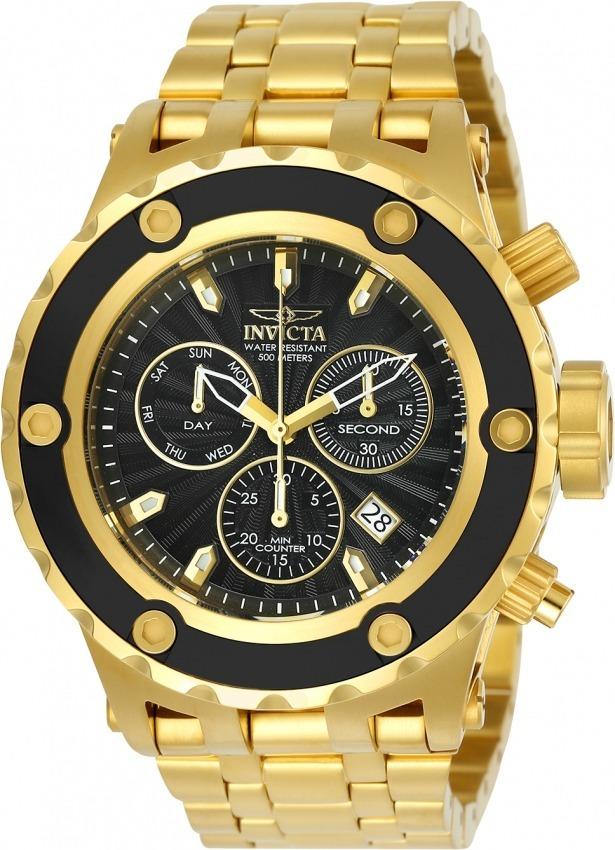 79a4463ac76 relógio invicta 23921 original swiss z60 banhado ouro 18k. Carregando zoom.