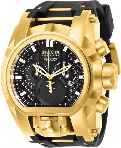 9866bae4bcb Relógio Invicta 25607 Banhado Ouro 18k Original Maleta - R  4.698
