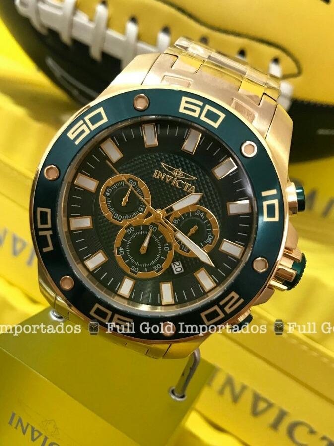 a1d48a9d153 Relógio Invicta 26077 - Aqui É Original De Verdade - R  826