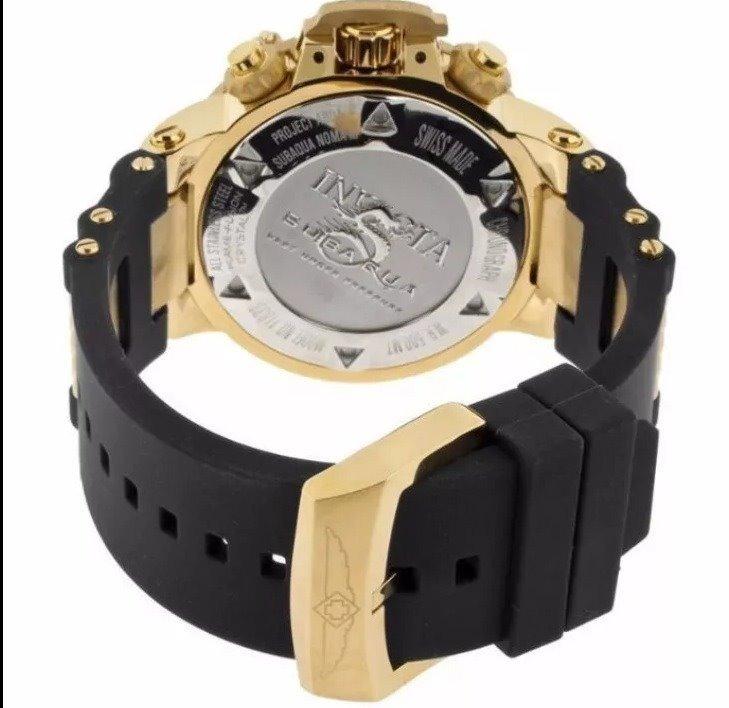 a1f98b2ebd9 Relógio Invicta 5514 Subaqua Noma Ii Preto Original Frete Gr - R ...