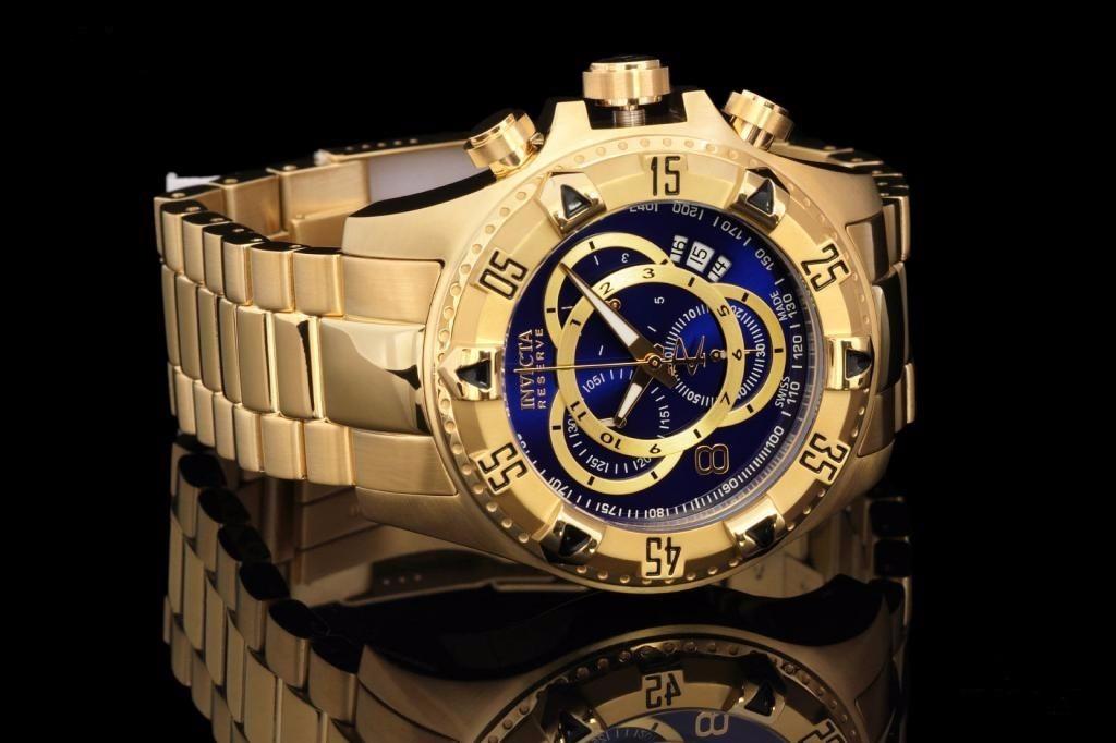 e7c98c9efdf relógio invicta 6469 excursion dourado masculino original ! Carregando zoom.