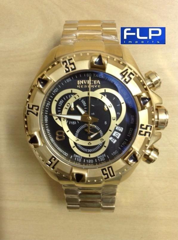18044df6687 relógio invicta 6469 excursion reserve dourado frete grátis. Carregando zoom .