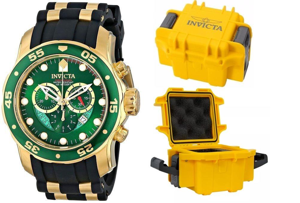 6c0c002e58e Relógio Invicta 6984 Swiss Original Banhado Ouro Maleta - R  948