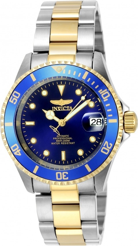 134638c5d5b Relógio Invicta 8928ob Automático B Ouro 18k Original Maleta - R ...