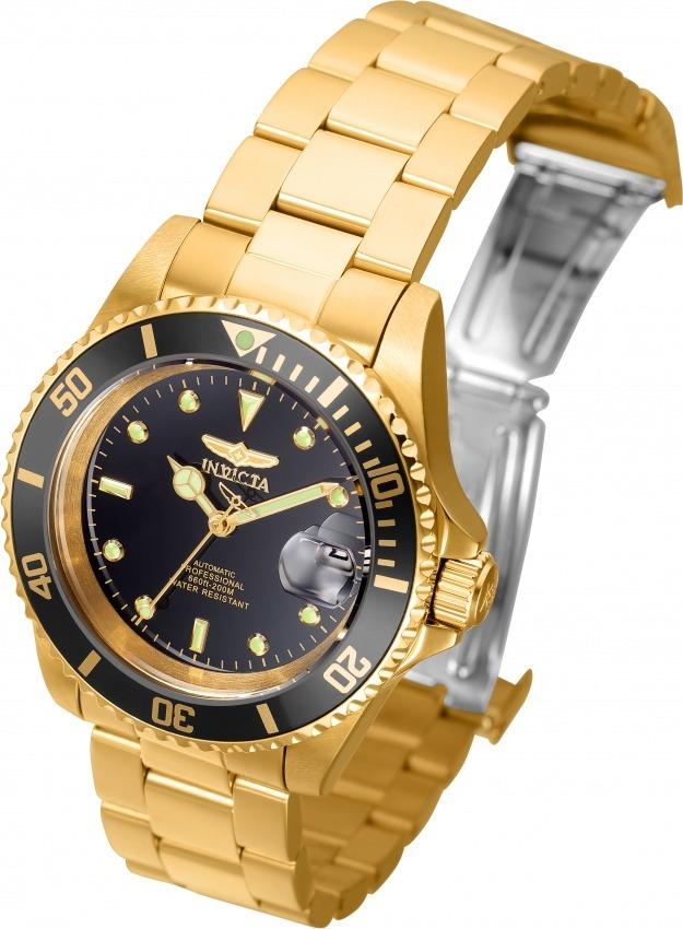 34c8c75126d Relógio Invicta 8929ob Masculino Automático Banhado Ouro 18k - R ...