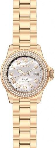 df8690d757d Relógio Invicta Angel 24615 Swiss Feminino Banhado Ouro 18k - R ...