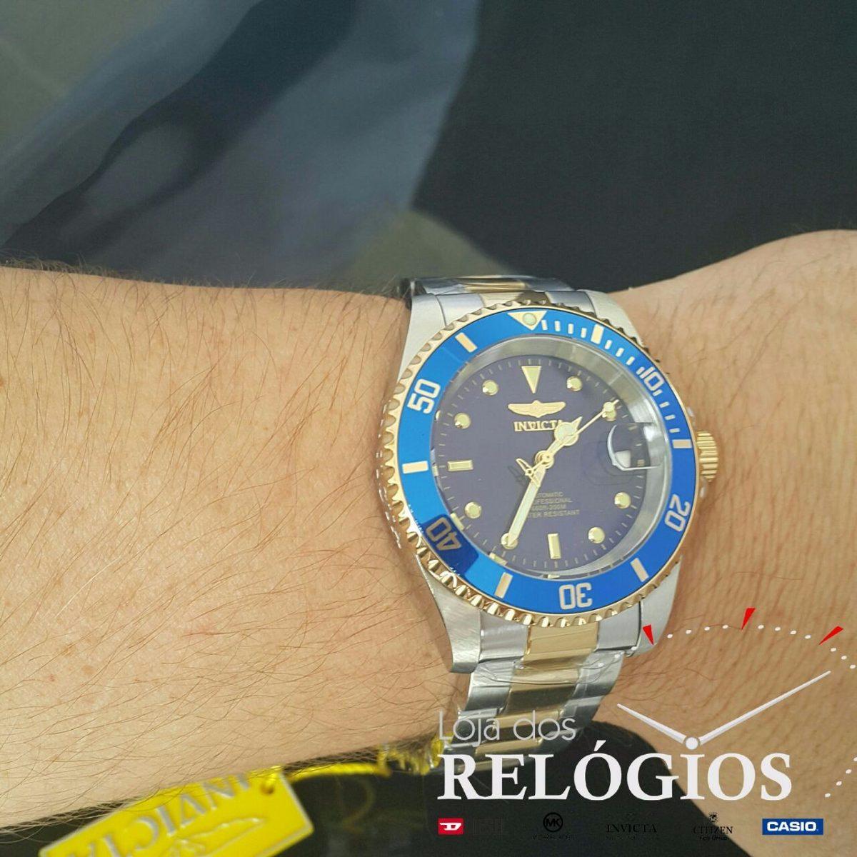 1fd713e5d81 relógio invicta automatico 8928ob 100%original com stank. Carregando zoom.