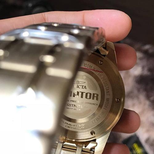 relógio invicta aviator 19173 original pronta entrega