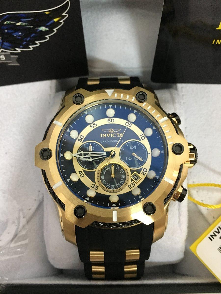 0295a1208d1 relógio invicta bolt gold 26751 lançamento original promoção. Carregando  zoom.