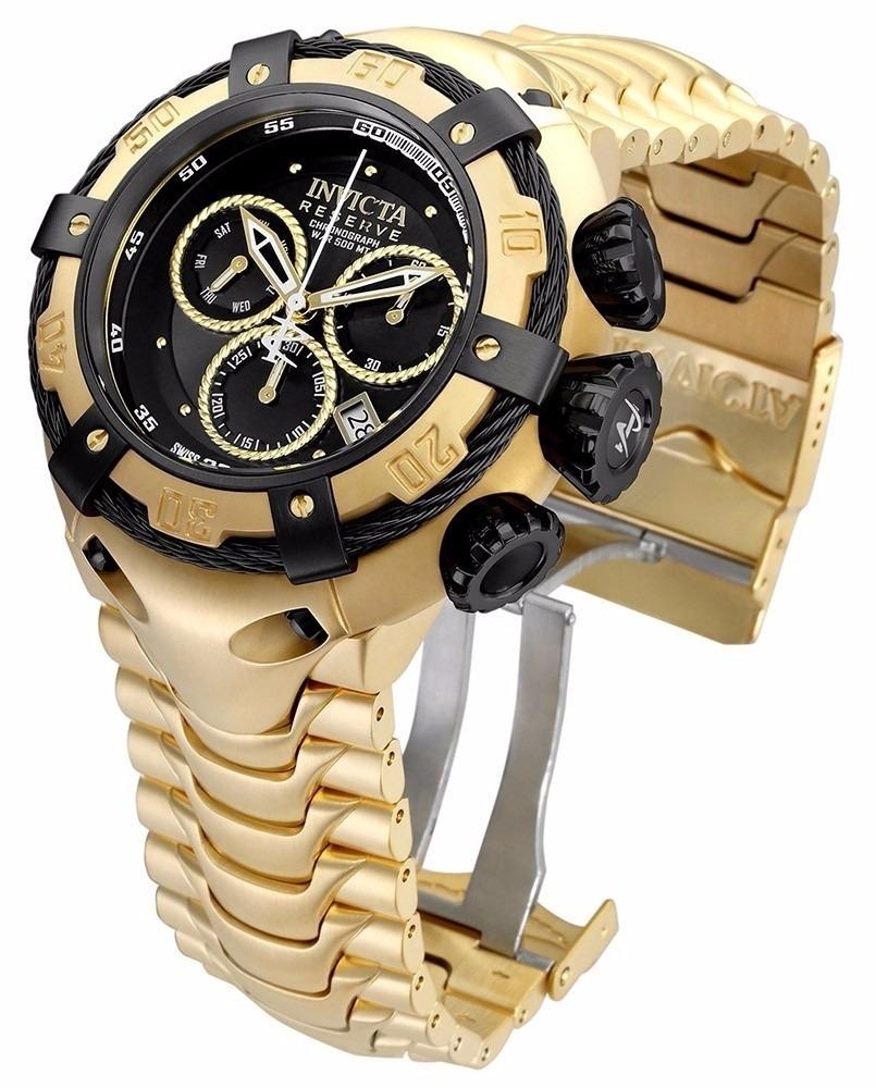 c0e7056e387 relógio invicta bolt zeus 12741 dourado preto promoção. Carregando zoom.