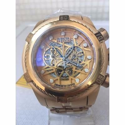 96ca05398ae Relogio Invicta Bolt Zeus 12763 Dourado Lindo Frete Gratis - R  639 ...