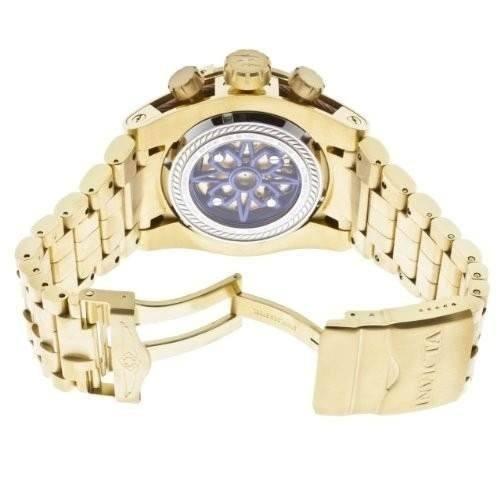 064f43ac82d Relógio Invicta Bolt Zeus 13757 12763 Gold Skeleton Completo - R ...