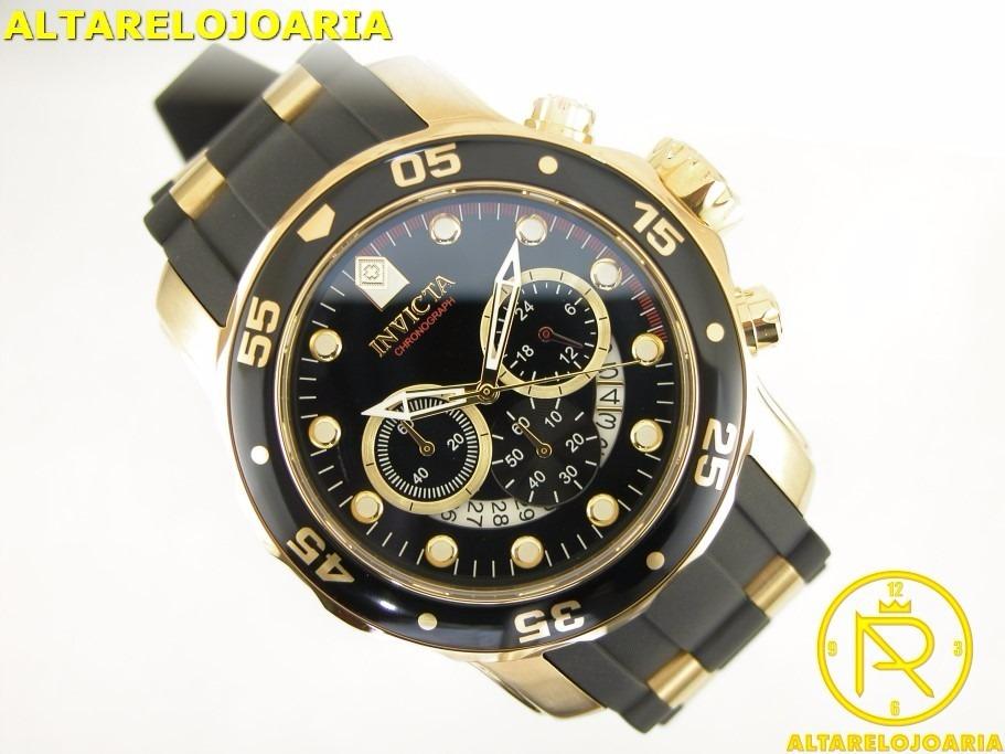 e3c93ba04b7 relógio invicta cronografo pro diver 6981 original. Carregando zoom.