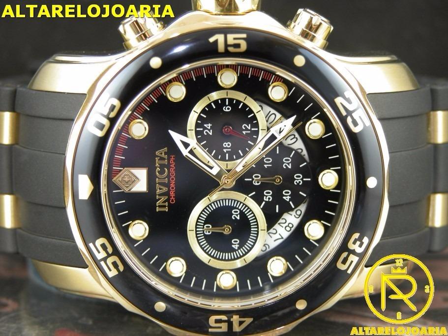 24c37f77c33 relógio invicta cronografo pro diver ref 6981 100% original. Carregando  zoom.