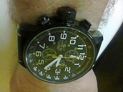 relógio invicta cronógrafo - semi novo - original!!!
