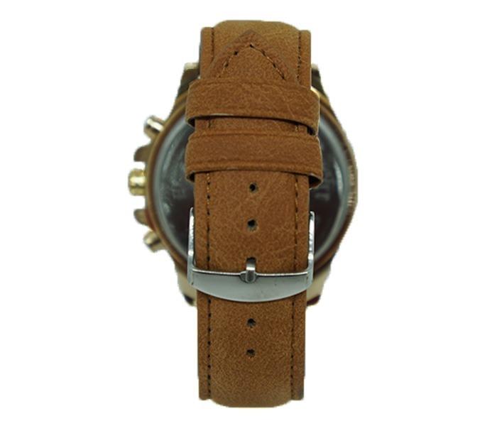 475eae59f29 Relógio Invicta Dourado Com Pulseira De Couro Caramelo - R  75