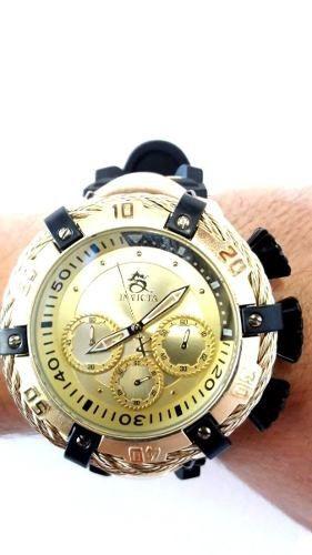 0773a924f7c Relógio Invicta Dourado Grande Thunderbolt Masculino Luxo - R ...