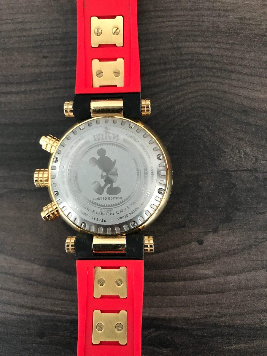 15ca55228ee relógio invicta edição especial disney mickey. Carregando zoom.