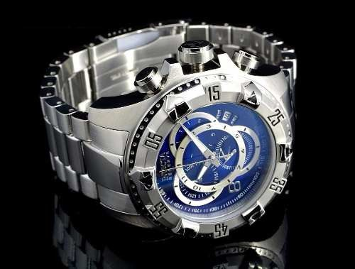 1c432e2aaca Relógio Invicta Excursion 5526 Azul Aço Grande A037 - R  380