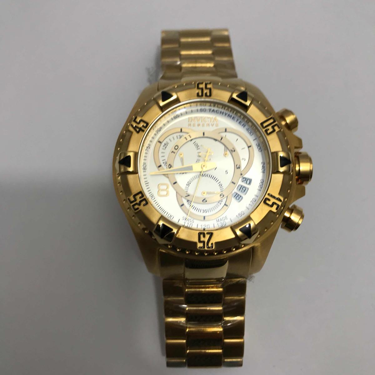 57071064550 relógio invicta excursion dourado fundo branco. Carregando zoom.