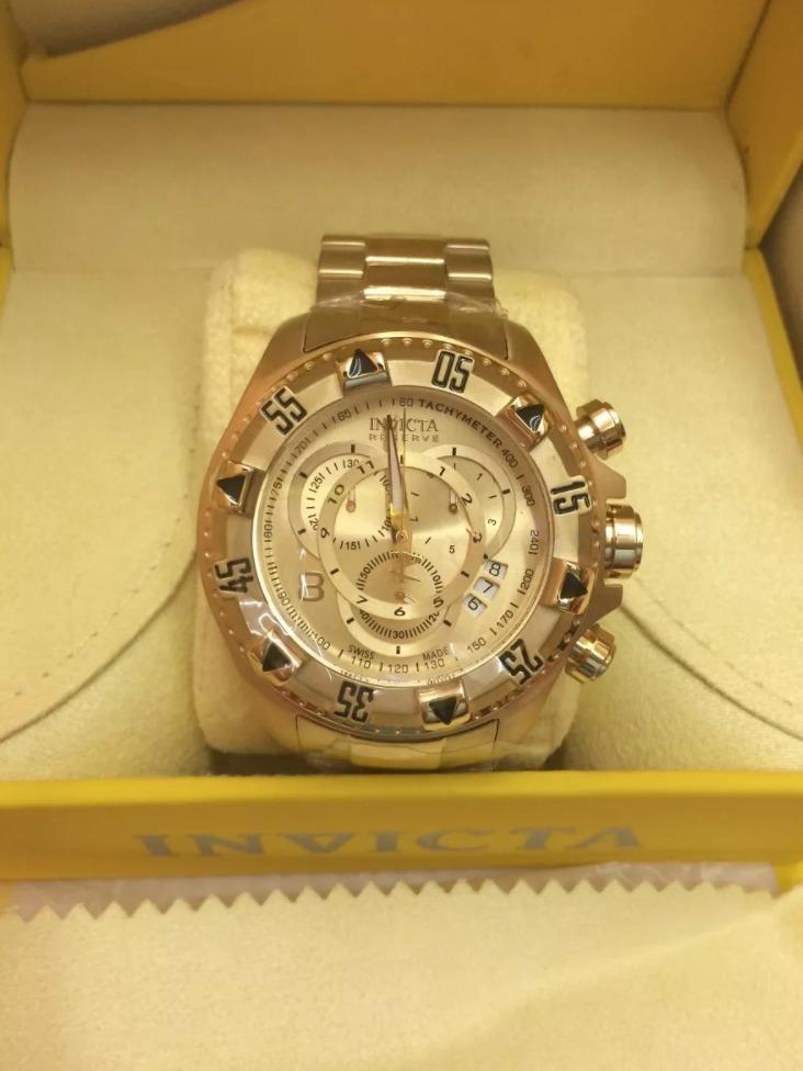 749552e91e0 relógio invicta excursion reserve 6471 original + garantia. Carregando zoom.
