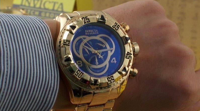 80cef28af18 Relógio Invicta Excursion Reserve Fundo Azul - R  129