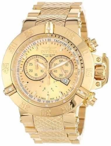 de3a1cbf5e5 Relógio Invicta Feminino 14500 Dourado Original F29 Novo - R  613