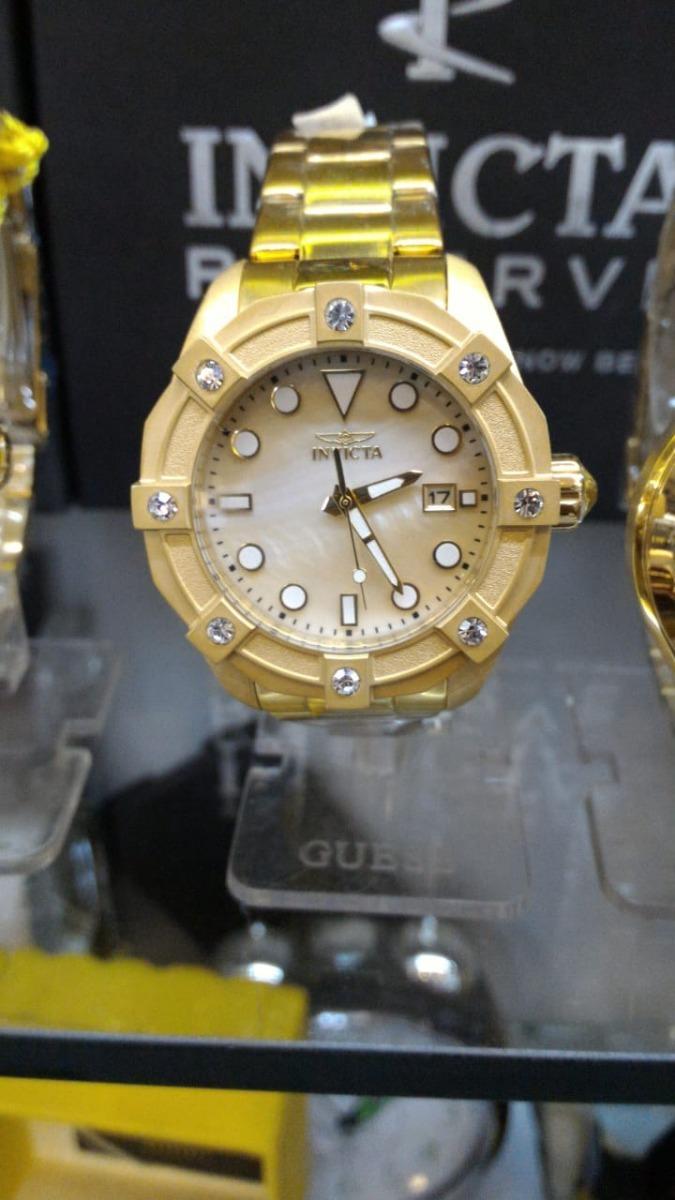 3cc269e58c4 relógio invicta feminino angel 20319 original b ouro dourado. Carregando  zoom.