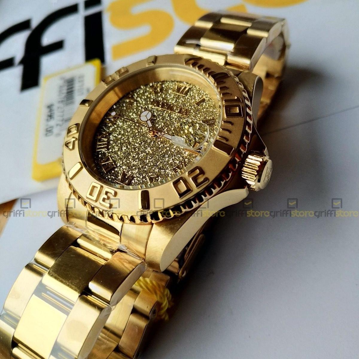 779cd1eca1a relógio invicta feminino angel 22707 dourado suíço original. Carregando zoom .