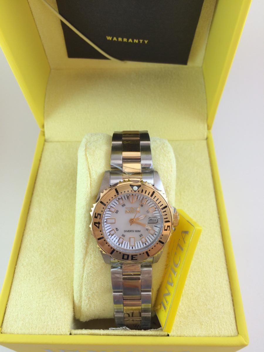 12ba995aaed relógio invicta feminino original banhado em ouro 18k. Carregando zoom.
