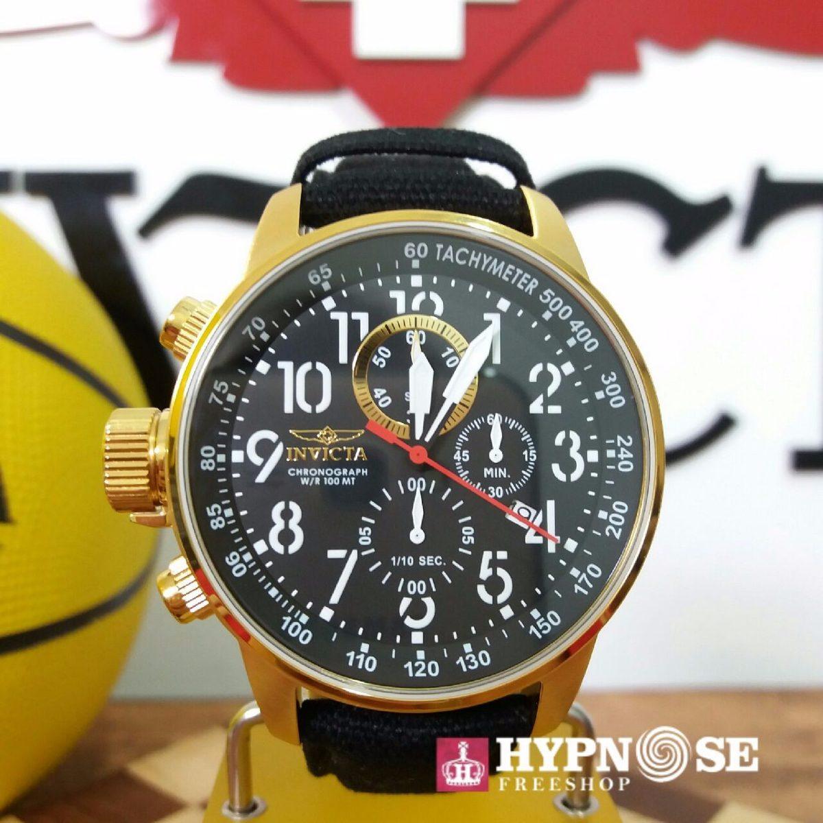 f7fca4a6d6b relógio invicta force collection 1515 original ouro   preto. Carregando  zoom.