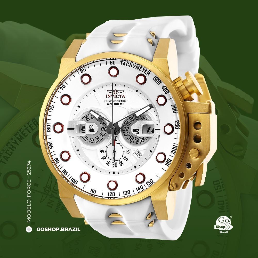 7e9c55736cf relógio invicta force masculino 25274 original. Carregando zoom.