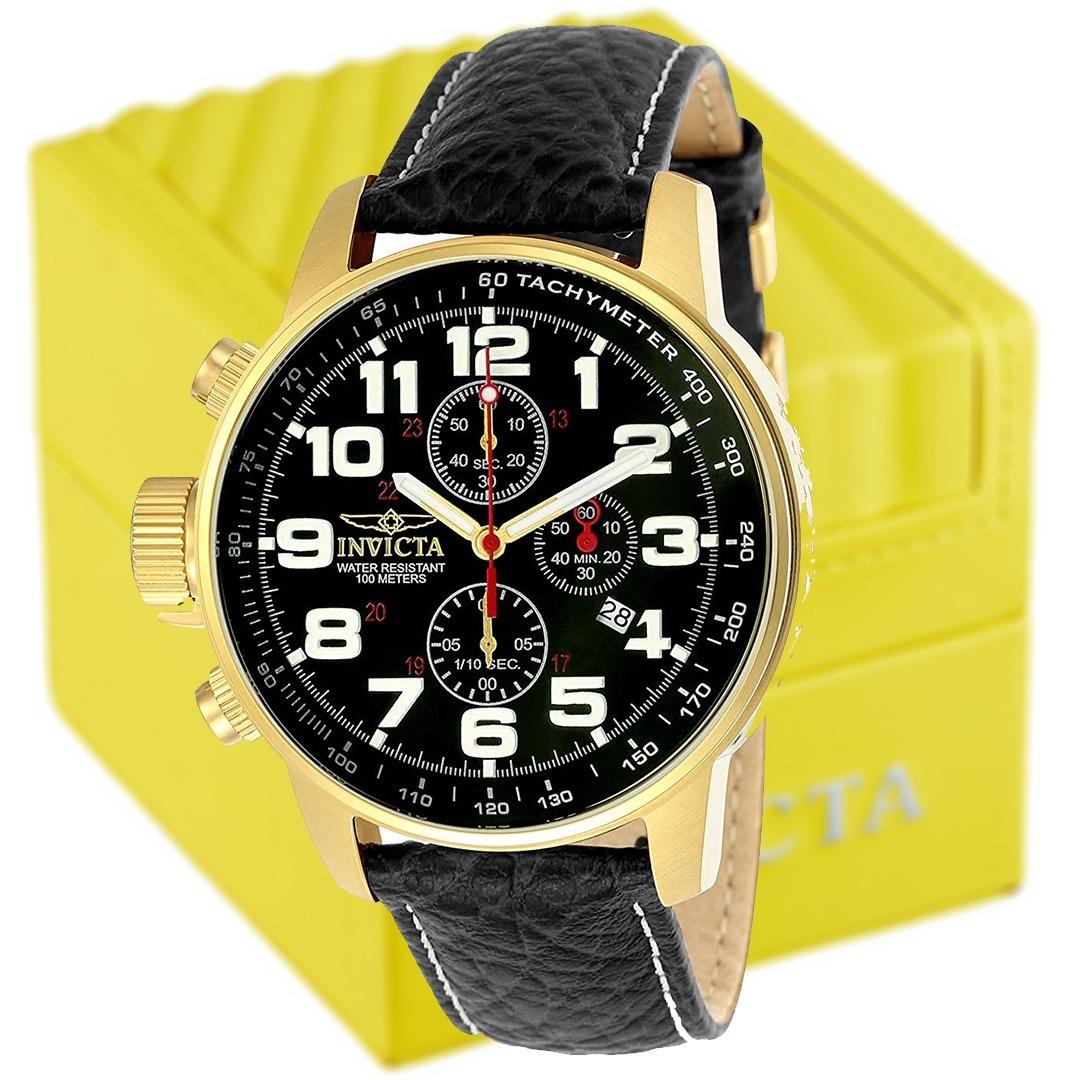 73d38799923 relógio invicta i force original 3330 pulseira de couro. Carregando zoom.