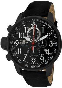 relógio invicta i-force pulseira de pano preta 1517