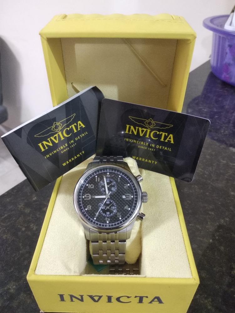 6469317c0bf relógio invicta importado ( original ). Carregando zoom.