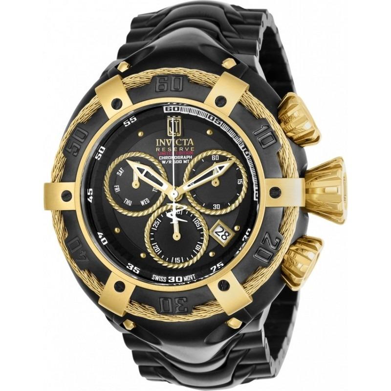 dec31e32d1e relógio invicta jason taylor thunderbolt 22174 black orig. Carregando zoom.