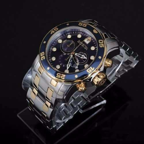 2eb679edc28 Lindo Relógio Invicta Masculino Pro Diver Scuba 0077 Top - R  408
