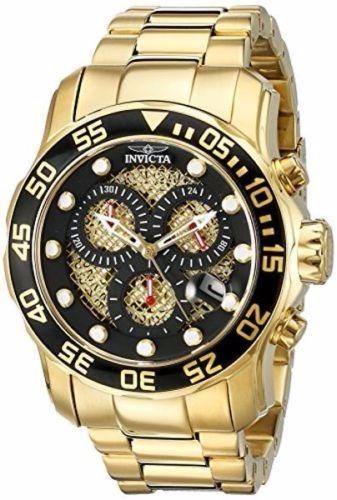 94434480feb relógio invicta pro diver 19837 - preto dourado masculino · relógio invicta  masculino