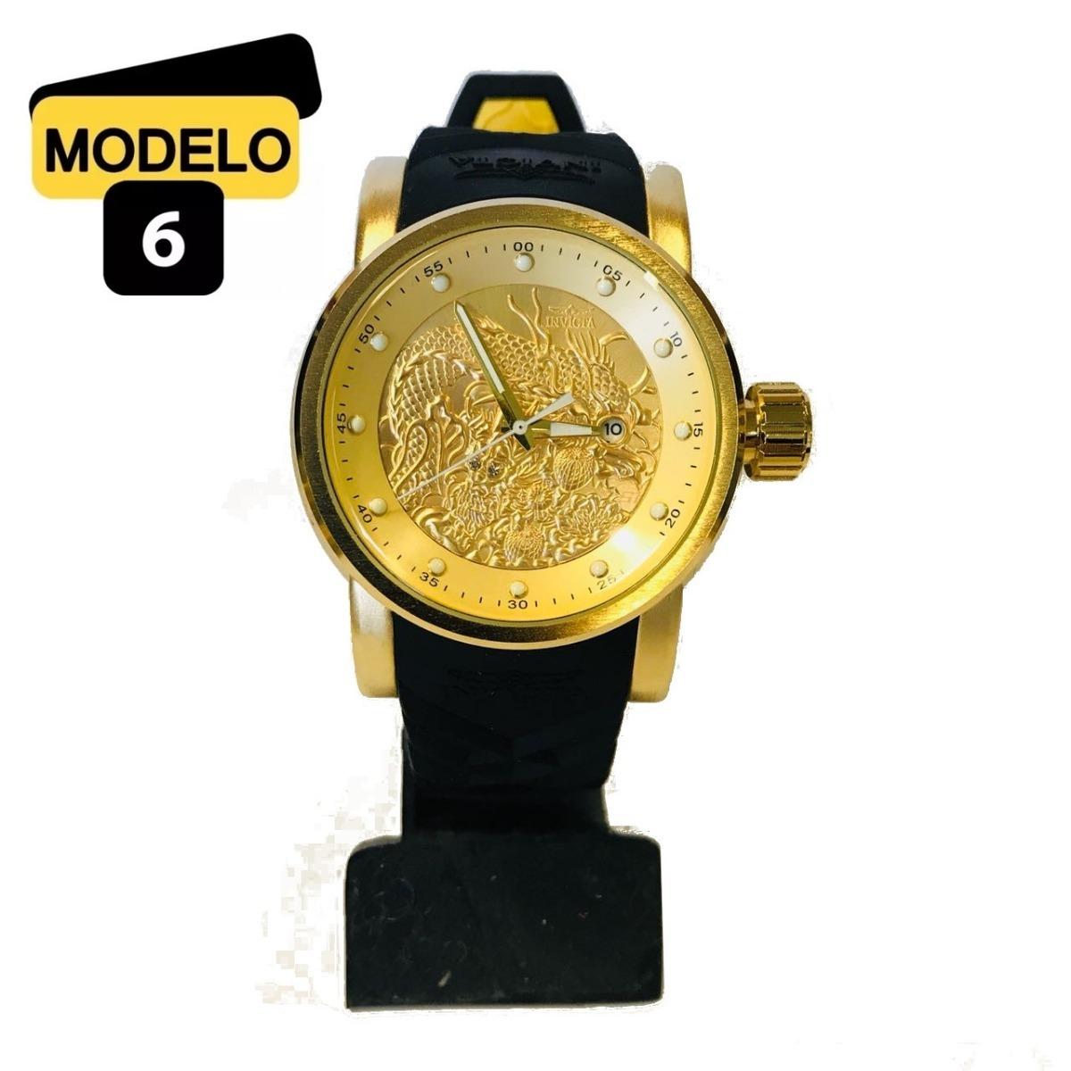 c5f4f04e239 Relógio Invicta Masculino S1 Yakuza 18214 Azul Cinza Ref732 - R  98 ...