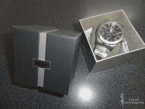 relógio invicta men`s ibi 41704-003 water resistant - novo!