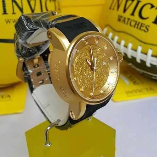 relógio invicta nh35a automático original 12790 15863 maleta