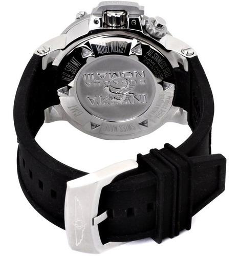 relogio invicta original masculino subaqua luxo prata preto