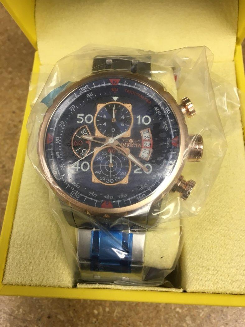 15bc7511dc4 relógio invicta ouro rosê original+promoção+importado. Carregando zoom.