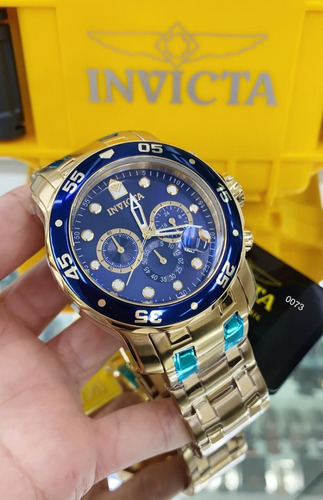 relógio invicta pro diver 0073 21923 original frete grátis.