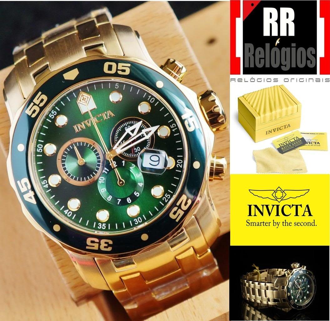 54635e34ab1 relógio invicta pro diver 0075 original   masculino. Carregando zoom.