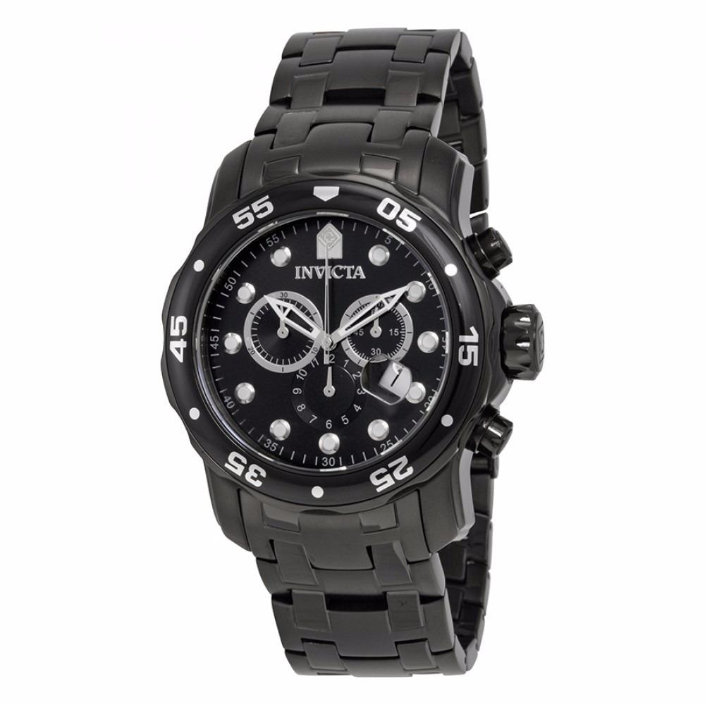 eba061a0370 relógio invicta pro diver 0076 preto masculino original. Carregando zoom.