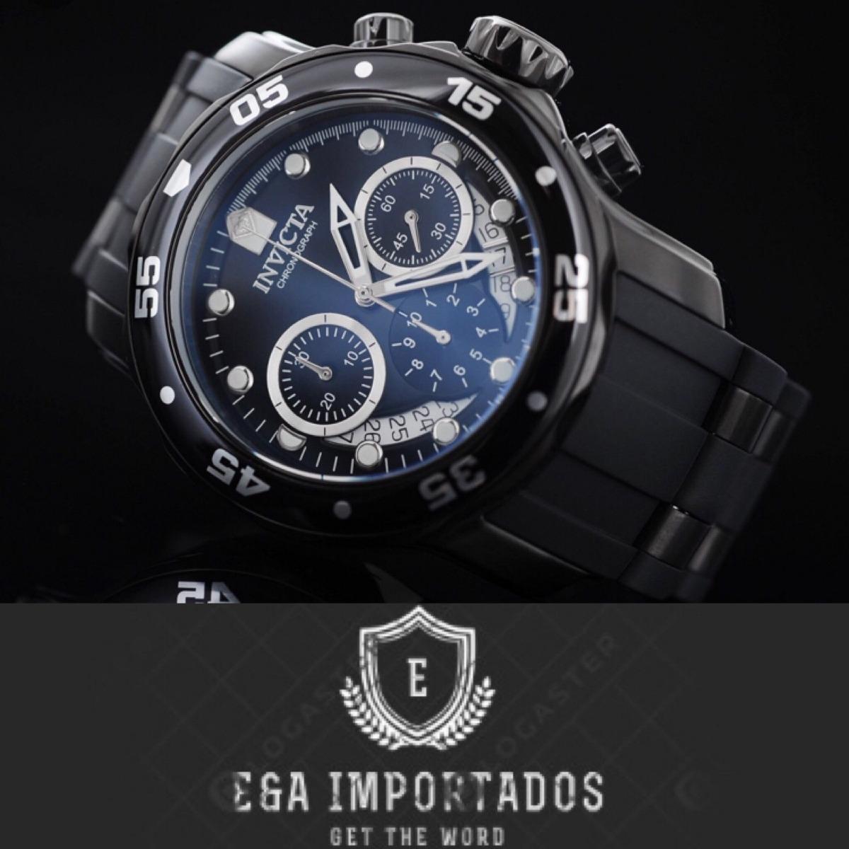 aebfaa3e682 relógio invicta pro diver 0076 preto original 200m. Carregando zoom.