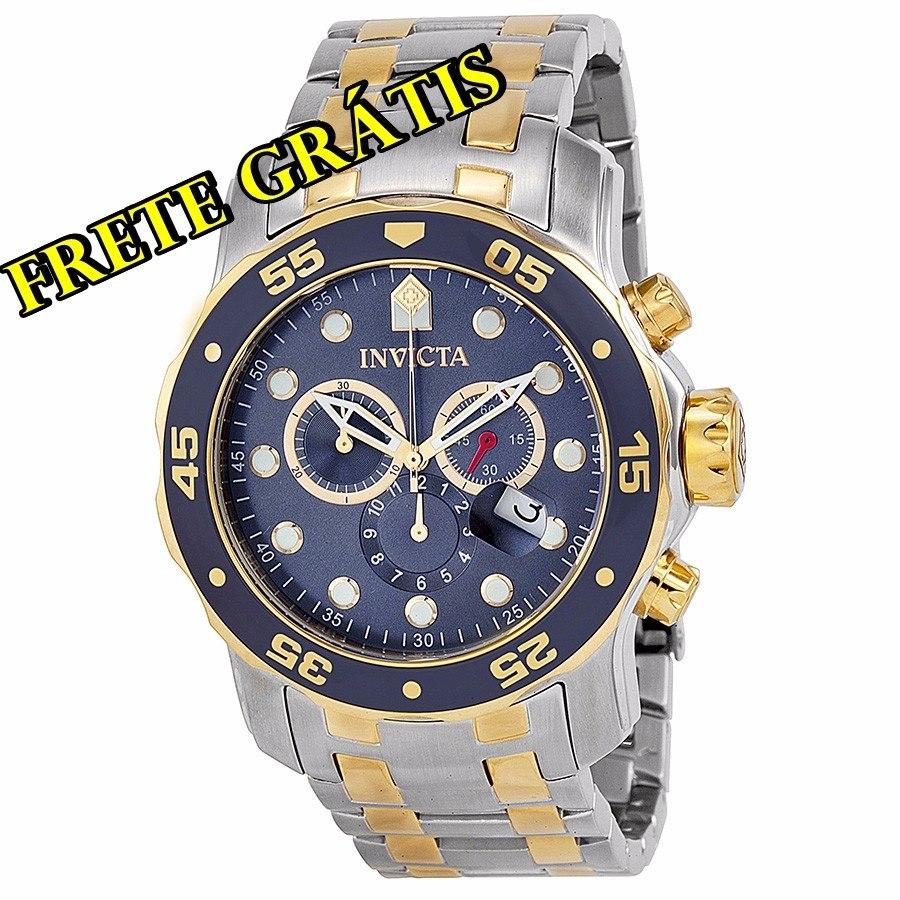 6c77b782844 relógio invicta pro diver 0077 masculino. Carregando zoom.
