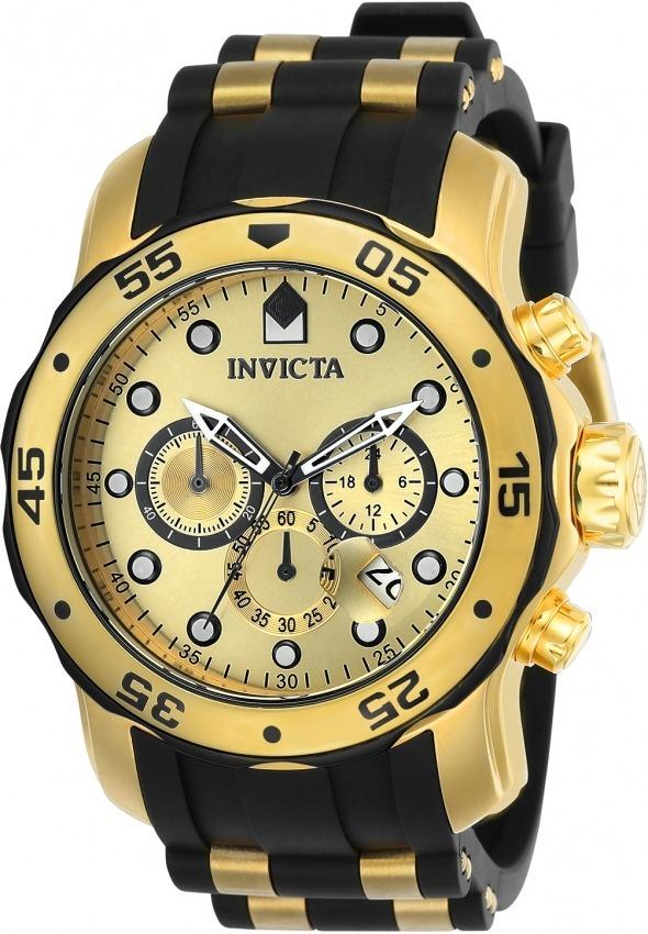 96f35839e06 relógio invicta pro diver 17885 banhado ouro 18k original. Carregando zoom.