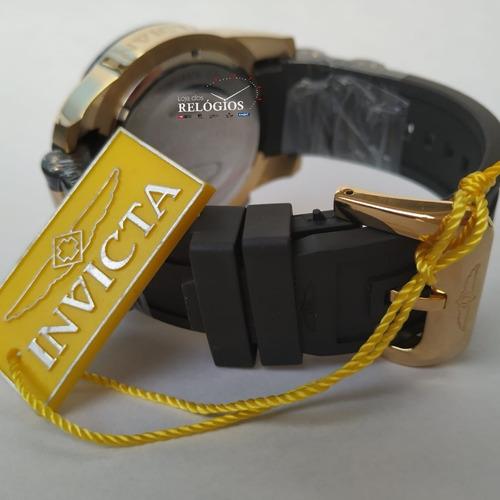 relógio  invicta pro diver 22345 original b. ouro 18k